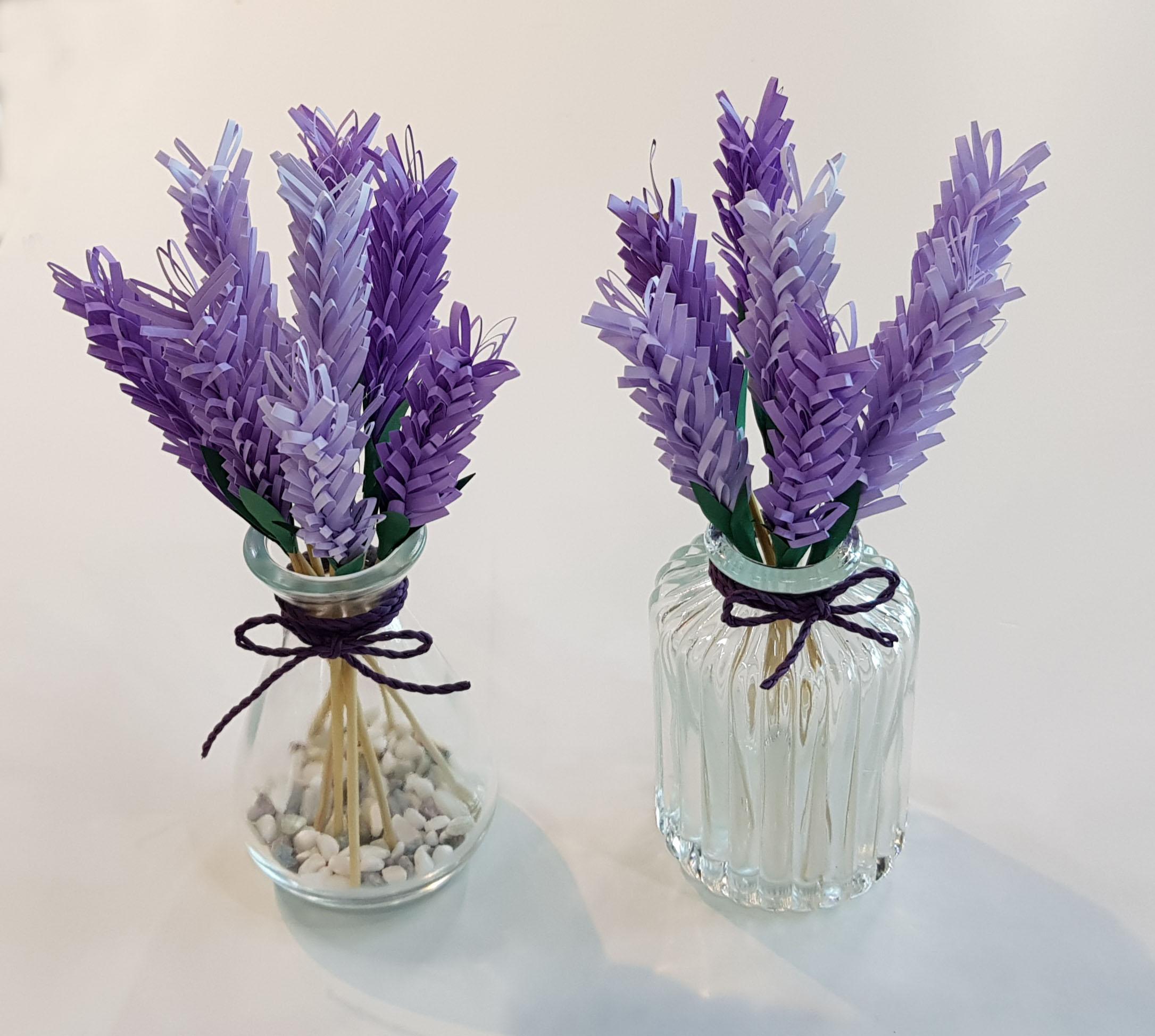라벤더 꽃병